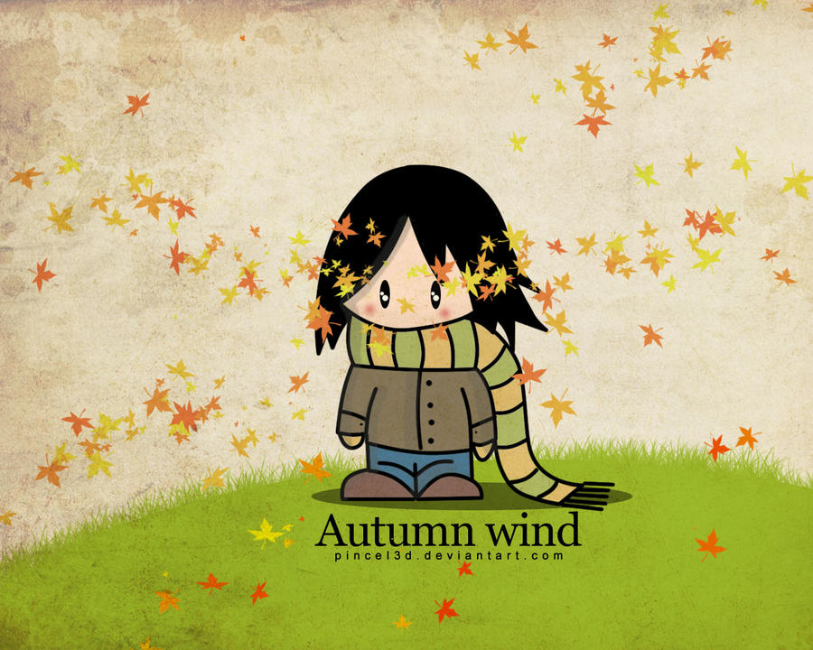 Autumn wind by pincel3d