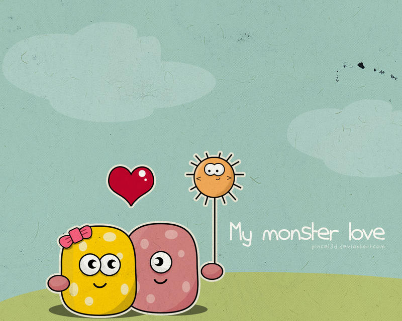 My Monster Love by pincel3d