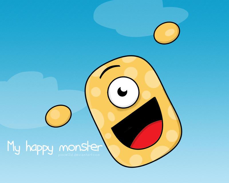 Super Happy by pincel3d