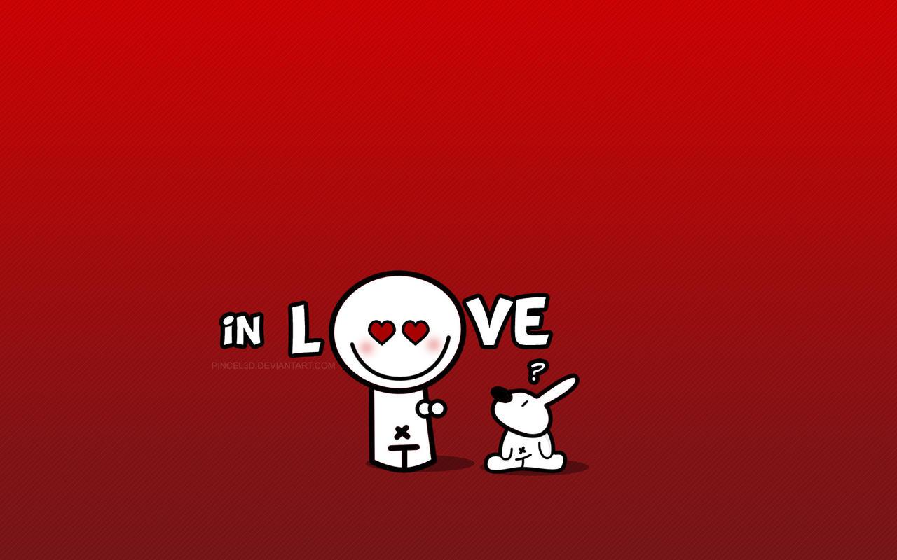 وکتور ساده لاو ( Love )