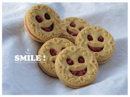 Smile cookie smile by pincel3d