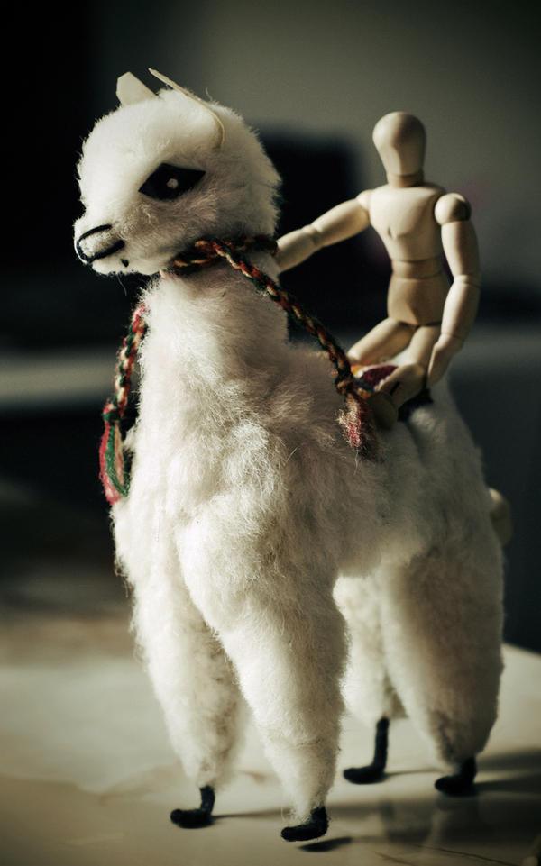 Super Llama by pincel3d