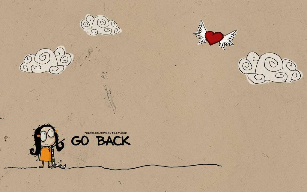 Go back - wallpaper by pincel3d