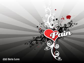 Serie Love - Pain by pincel3d