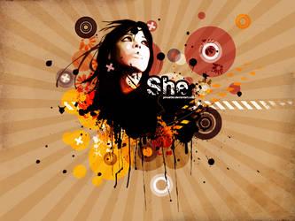 She in Vector