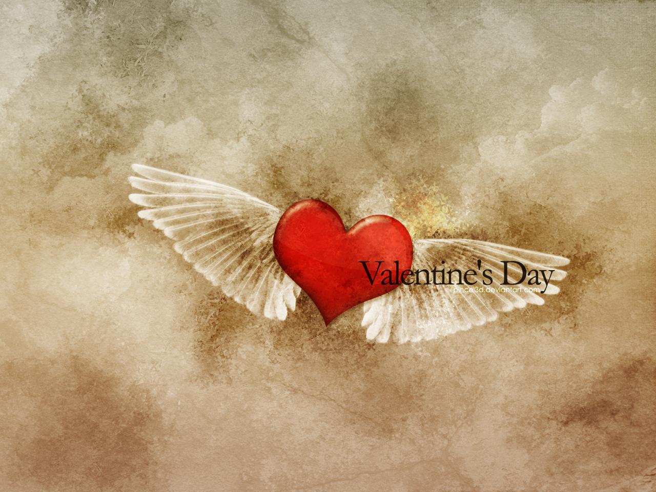 Valentine's Day II by pincel3d