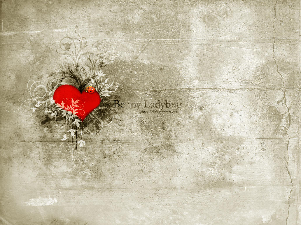 Be My Ladybug by pincel3d