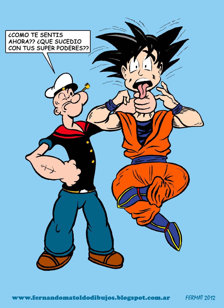 Goku Vs Superman Archive Sideshow Freaks