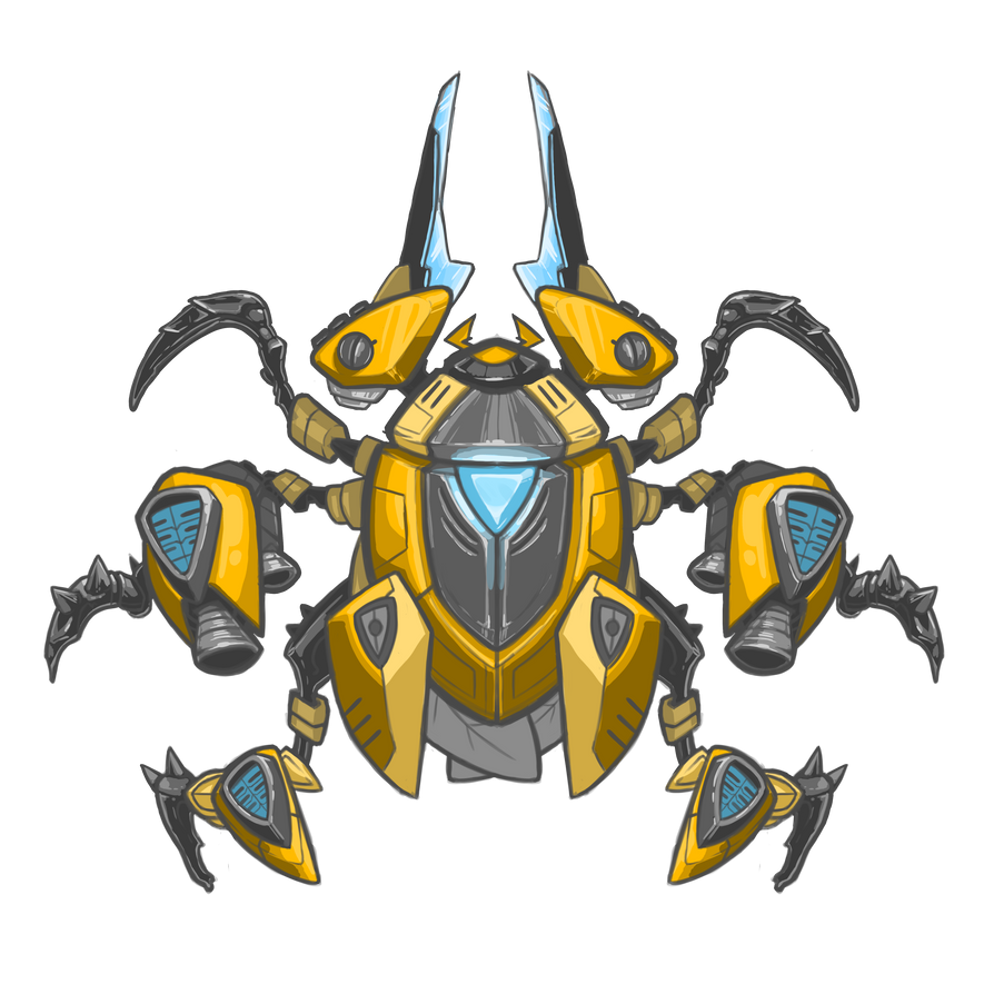Robot beetle by drakotitan