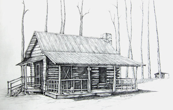 Bailey Log Cabin By Nancyzurenda