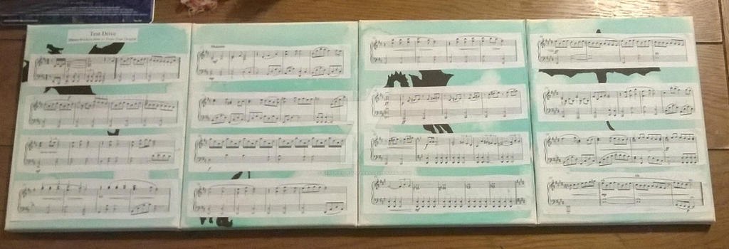 how to train your dragon test drive violin sheet music
