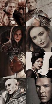Dragon Age Inquisition | Fancast (part one)
