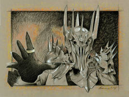 Sauron by BenCurtis