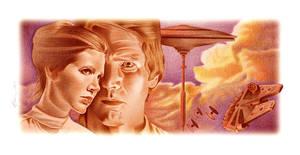Han and Leia Color Study