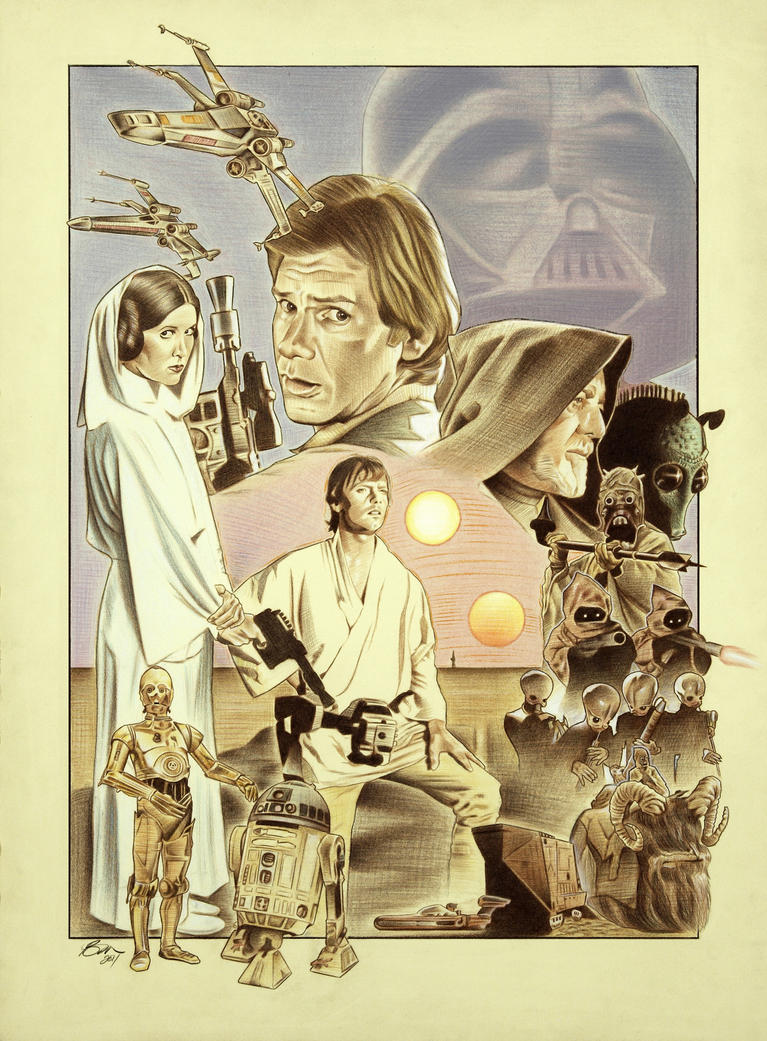 An analysis of a folk tale and star wars a new hope