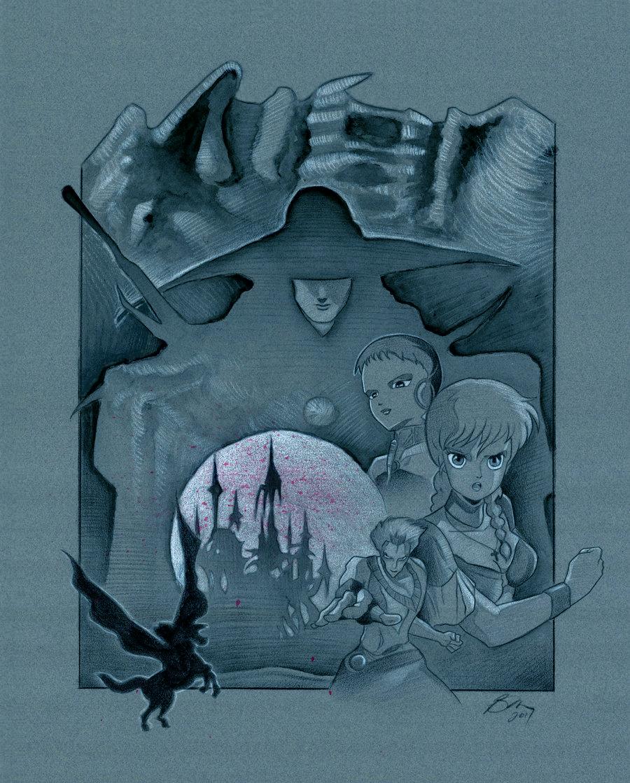 Vampire Hunter D by BenCurtis