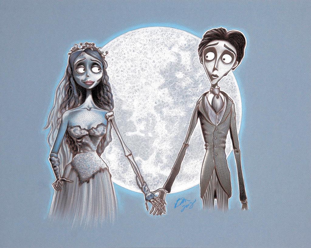 Tim Burton's Corpse Bride by BenCurtis on DeviantArt