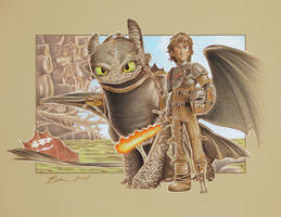 How to Train your Dragon by BenCurtis