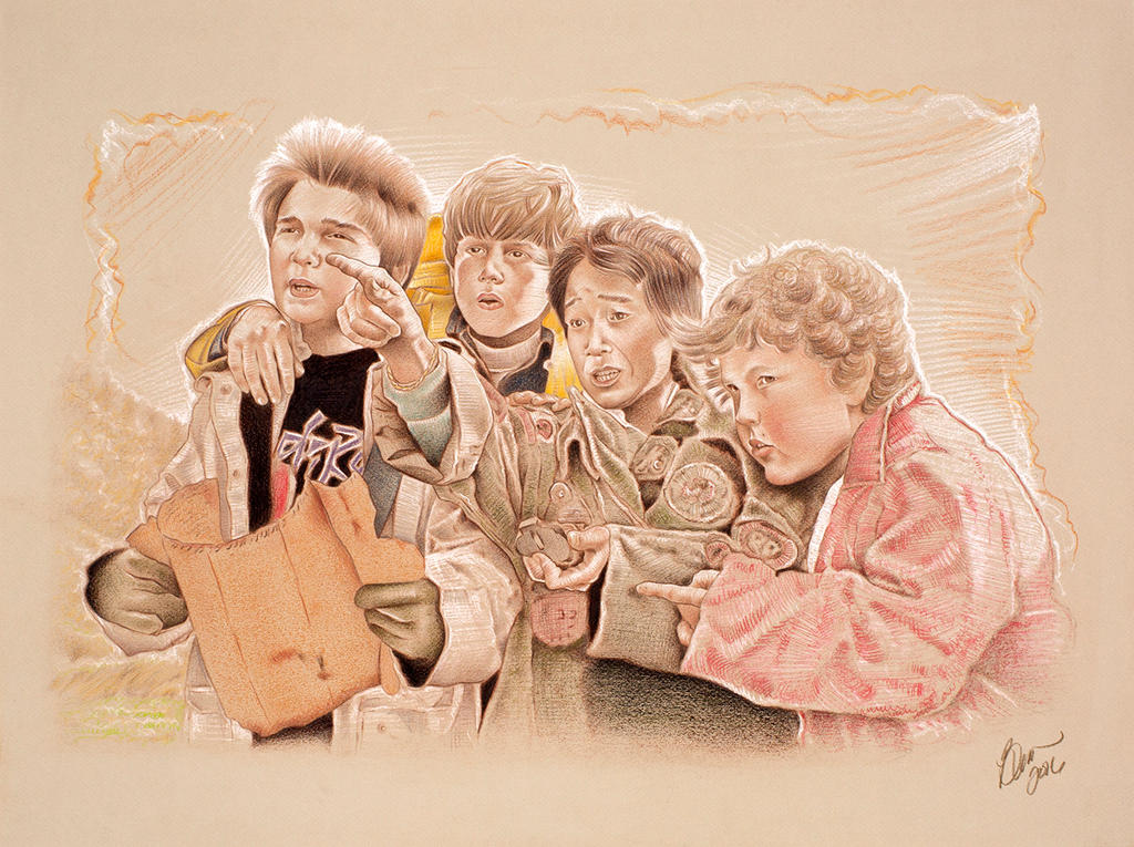 The Goonies by BenCurtis