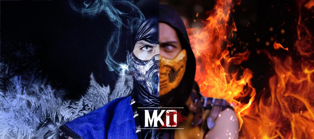 Sub-zero X Scorpion - MKO Team by DorianG26