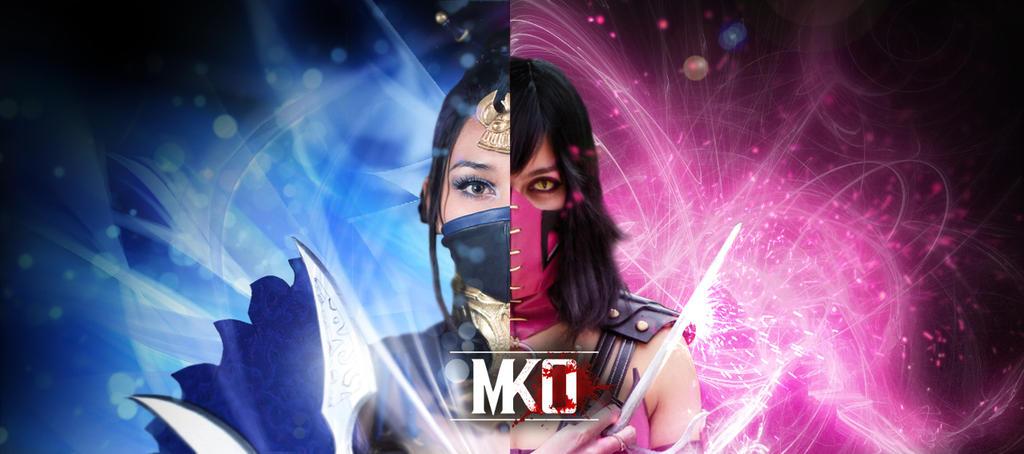 Kitana X Mileena - MKO Team by DorianG26
