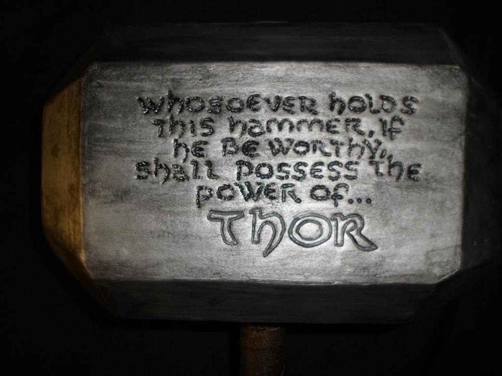 Shall possess the power of Thor. by DorianG26