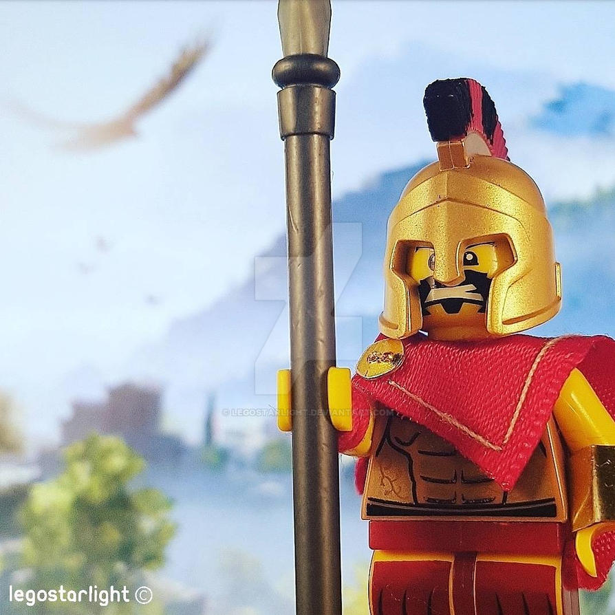 Assassin's Creed Odyssey Lego styleeee!!! by Legostarlight