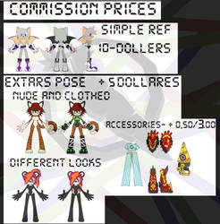 Commission Prices by R-CoMiX