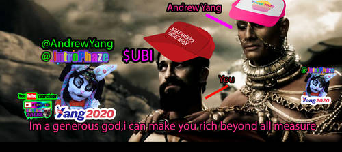 Andrew Yang down with the bot YangItUp- Introphaze