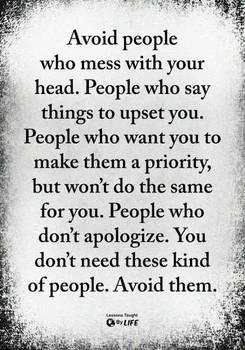 Avoid.