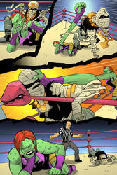 Wrestling Short page 6