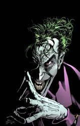 Mike Deodato Jr Joker Color warmup