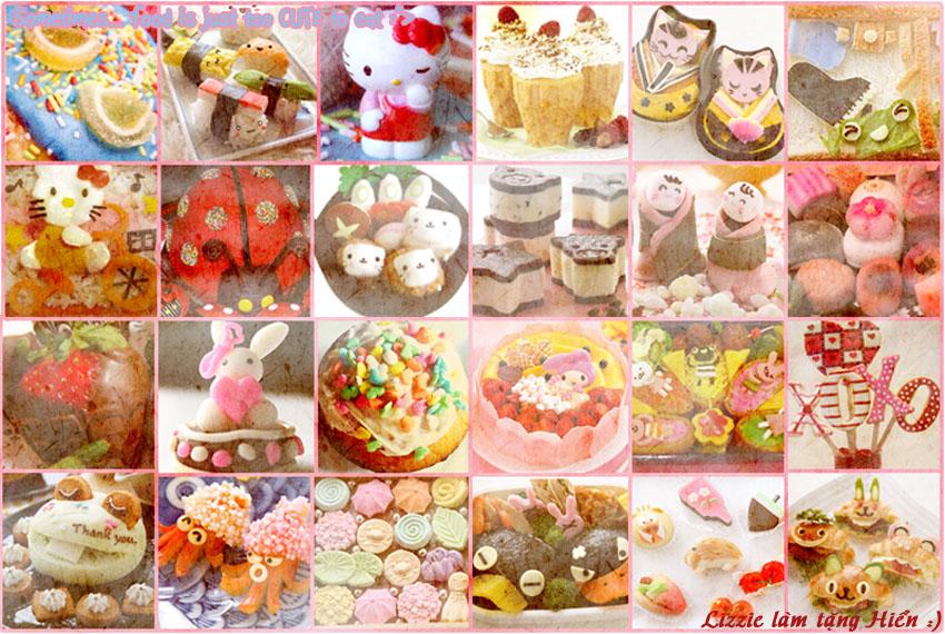 Cute Food wallpaper by Shizumichan