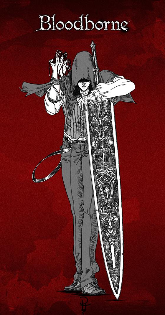 Fanart Bloodborne By Draconissoul On Deviantart