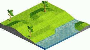 Isometric Landscape no.2