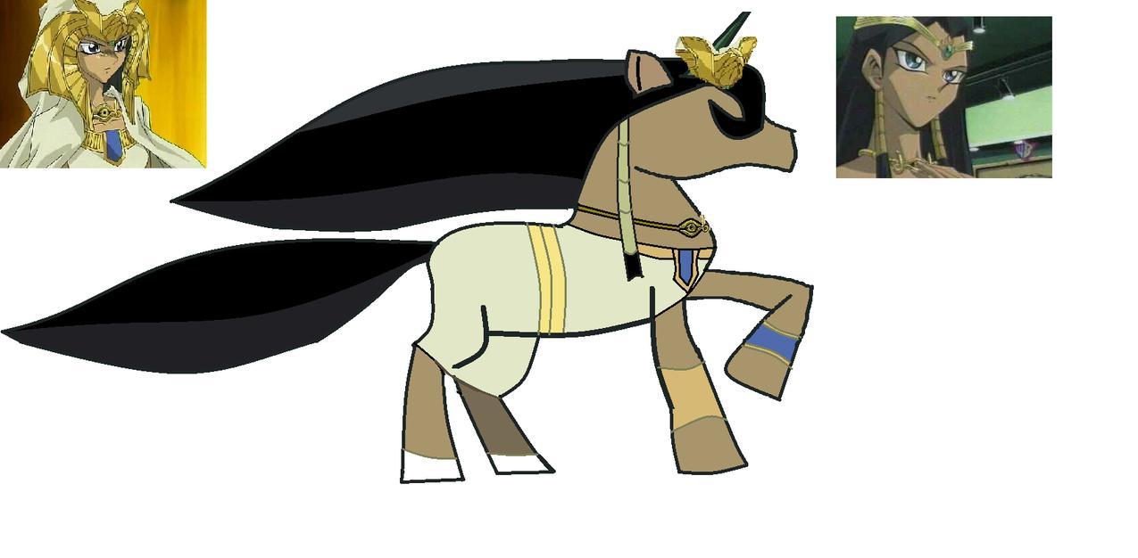 High Prietess Ishizu Unicorn by PharaohsGirl18