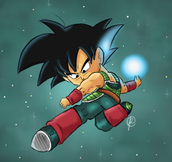 do bardock and goku ever meet a hater