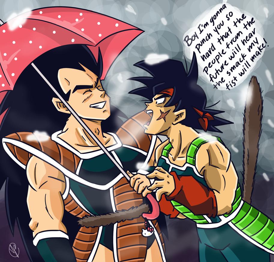 do bardock and goku ever meet someone