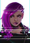 Fanart: Sombra (Overwatch)