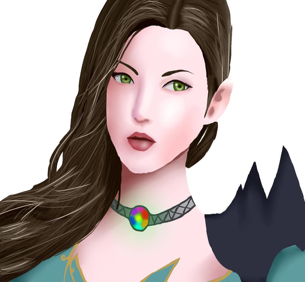 Aion Elyos Girl by Alina-Inabikari