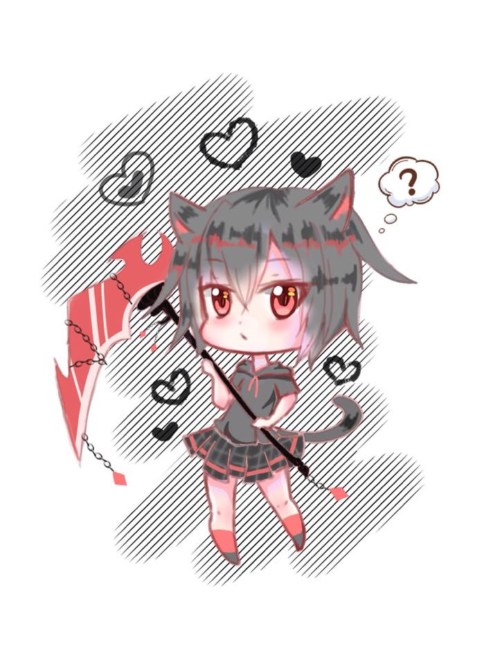 [Commision] (Extra Chibi) by SatohKiyoko