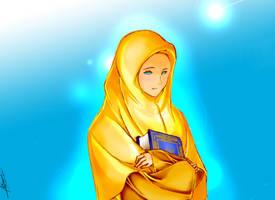 muslimah by kuzuryo