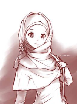 Random muslimah 8