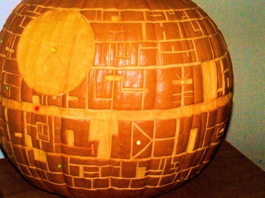 Death Star Pumpkin (Flash) by Deatph