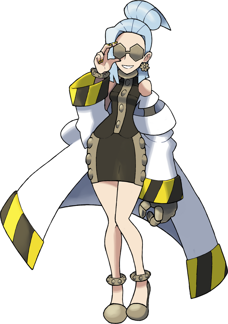Elite 4/Team Omega Admin Minerva by NachtBeirmann
