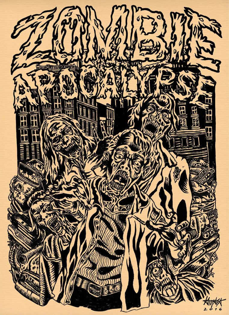 Zombie Apocalypse by dri-ilustre