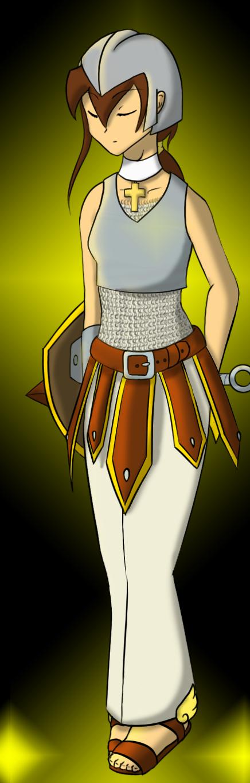 Spiritual Warrioress by felinemon