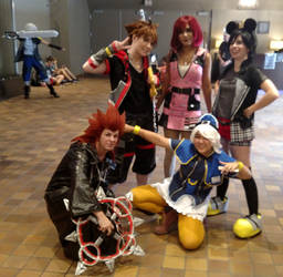 The Kingdom Hearts Gang (Conbravo Sun 2018) by JackitK