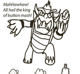 Fear the King of Button Mash by JackitK