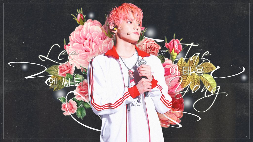 TAEYONG|WALLPAPER|LEADER by SoDesing on DeviantArt